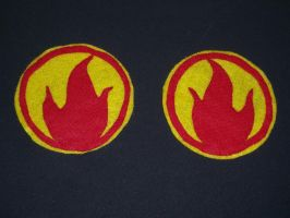 Pyro patches: front view by MasqueradeLover