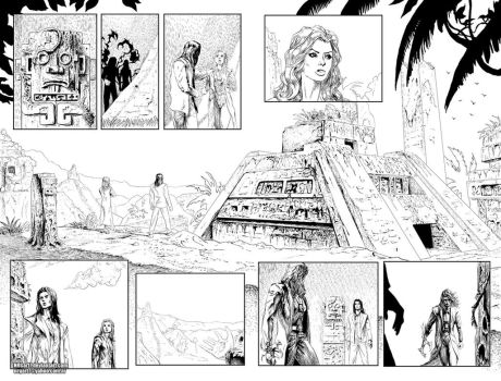Top Cow Talent Hunt- Artifacts 8- P8-P9 by the NRG by NRGart7