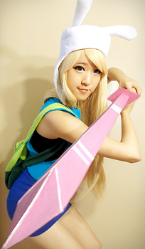 Adventure Time Fionna Cosplay by CosplayProdigy