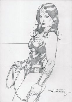 Wonder Woman by eltonramalho