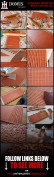 Domus project 2: Homemade miniature bricks by Wernerio