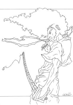 Afro Samurai (wip maybe) by LukTheBest