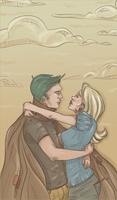 Teddy and Victoire on Cloud 9 by shaiiim