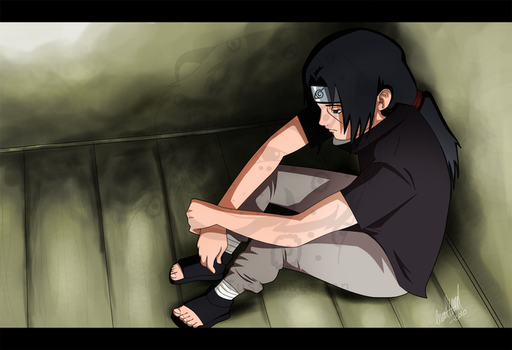 Itachi: a lot on my mind by TussenSessan