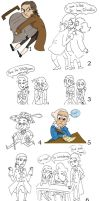 1776 doodles by Allam