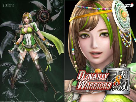 Commission: Kita as Diao Chan from DW7 by ToshieChan on