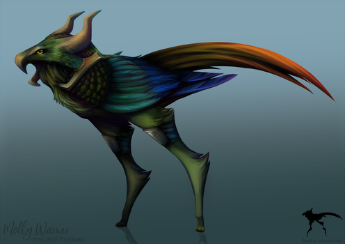 Sharnill (Silhoette Creature) by SilverSkittle