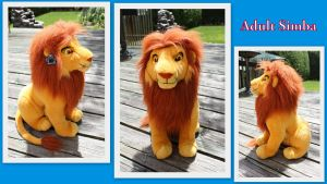 Adult Simba by Laurel-Lion