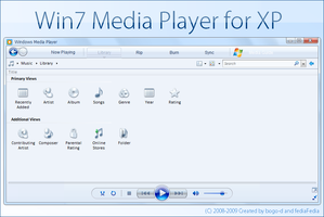 Win7 wmp11 for XP by fediaFedia