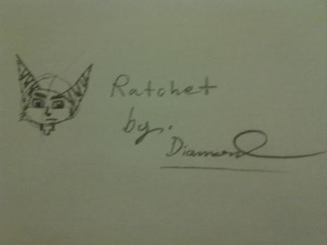Ratchet drawing by Twilightlover865