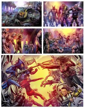 Panels by goweliang