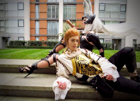 Balthier and Fran by SwordofNyx