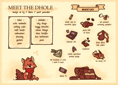 Meet the Dhole by casual-dhole