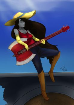Marceline  - Adventure time by PatrickAugusto