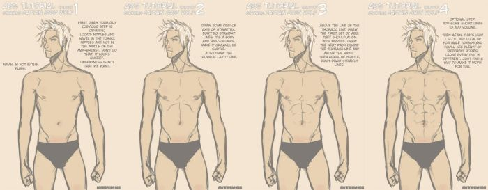 How do I draw abs by Noiry