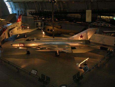 MiG-21 by Tlacatecatle