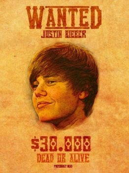 WANTED Bieber Dead by DaBsProfile