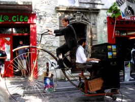 Piano-bicycle by Leinnn