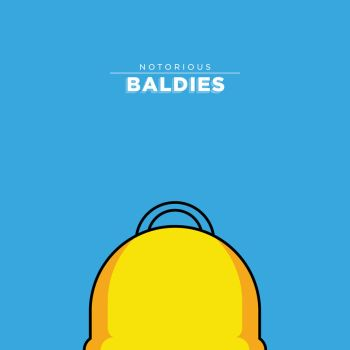 Notorious Baldies - Homer Simpson by MrPeruca