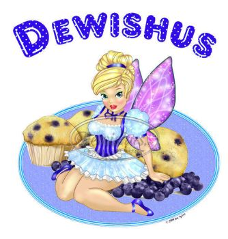Blueberry Muffin Fairy by Dewishus