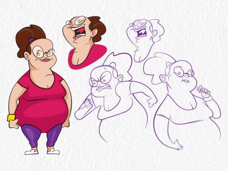 Character page by PudgyDevilKid