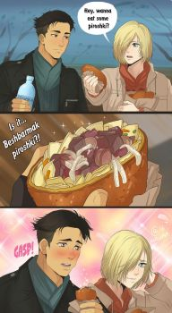 YoI comics - Beshbarmak by Autumn-Sacura