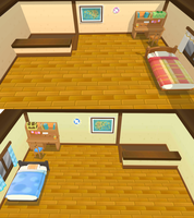 Pokemon ORAS May and Brendons bedrooms - MMD stage by NipahMMD