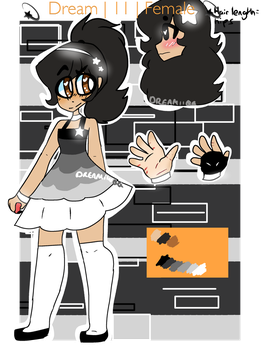 DREAM |Pokemon Trainer reference sheet by dreamiinqq