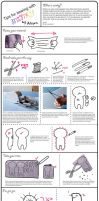 sewing with minky tips by gurliebot