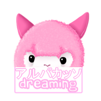 Alpaca dreaming by RainyRave