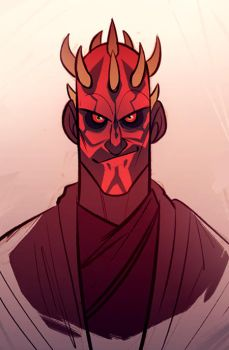 darth maul by CoconutMilkyway