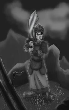 Mulan for sketch dailes by Tristepin523