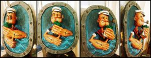 popeye the sailor man by OgiCajka