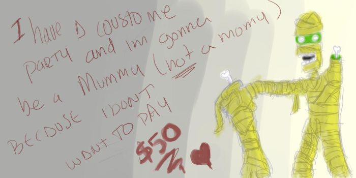 Mummy by excusethis