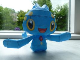 manaphy papercraft by epikachu