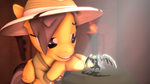 [SFM Ponies]: Daring Do and the Golden Sarlac by ata64