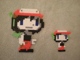 Perler Quote from Cave Story by Darksora128