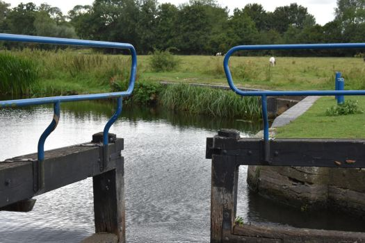 Closing Water Gate at Beeleigh Water by Willow-Sage773