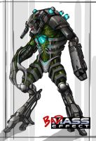 CGHUB Mass Effect challenge by THECOOLGEEK