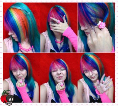 Rainbow Cherry Girl Overdose by cherrybomb-81