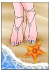 Feet in the beach by Lily-Skadi