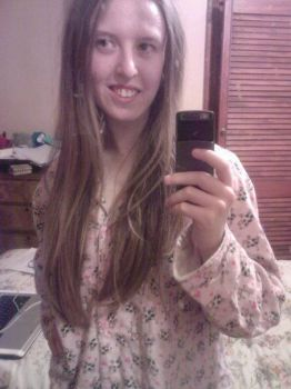 Me With Long Hair by British-Prophetess