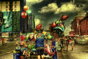 Shiny Red Baloon HDR by ISIK5