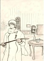 APH: Watching Over The Maid - RusLiet by Tamagi