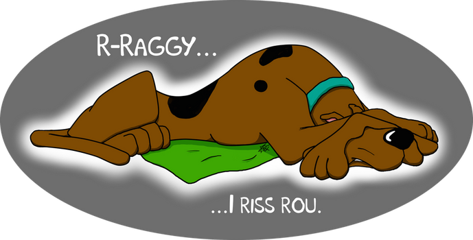 Scooby Doo Misses Shaggy by LadyPhoenix07