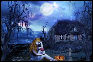 The dark house by annemaria48