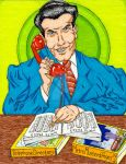 Prank Call by Eddie Ford - slow day at the office by MugenPlanetX