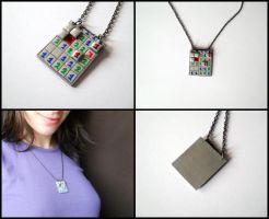 Minesweeper pendant by ALINAFMdotRO