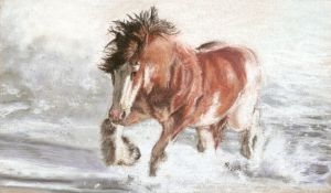 17. Clydesdale horse winter by Mrfour1