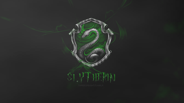 Slytherin Wallpaper by twisted-illusion-666